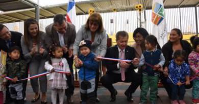 Gobierno inauguró primer jardín infantil rural para 24 niñas y niños  de Las Llosyas
