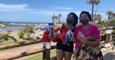 Sernatur entrega kits sanitarios en borde costero