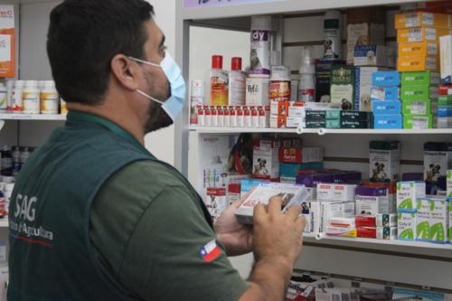 SAG fiscaliza venta de medicamentos de uso veterinario