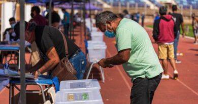 Tras 12 años Estadio Carlos Dittborn volvio a ser recinto de votación