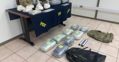 Detuvieron a extranjeros ingresando clandestinamente con droga