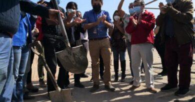 """Colocan primera piedra del  """"Complejo Deportivo Cardenal Silva Henríquez"""""""