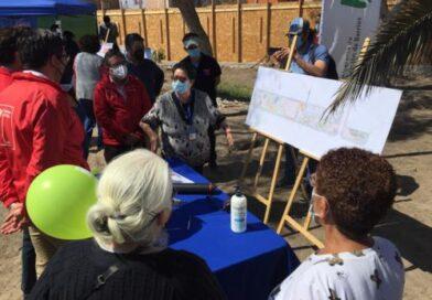 Dan el vamos a obras de mejoramiento del Parque Héroes de la Concepción